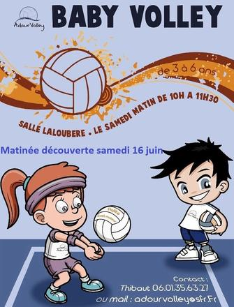 flyer matinee decouverte baby volley 16 06 18